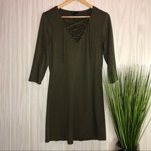 Bebop Lace up Dress Size Medium